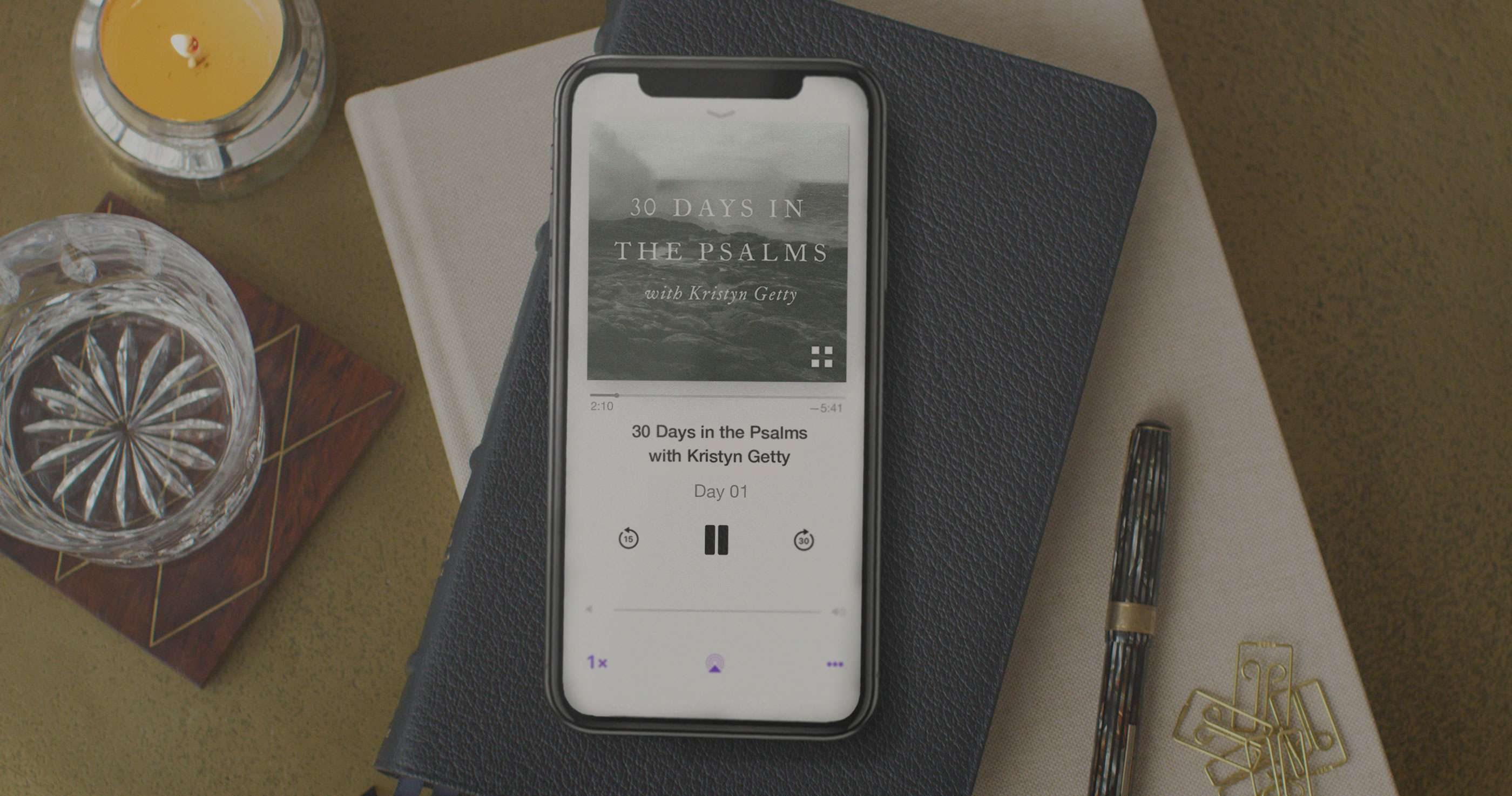 Introducing 30 Days in the Psalms with Kristyn Getty Podcast