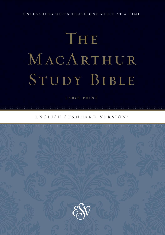 ESV MacArthur Study Bible, Large Print