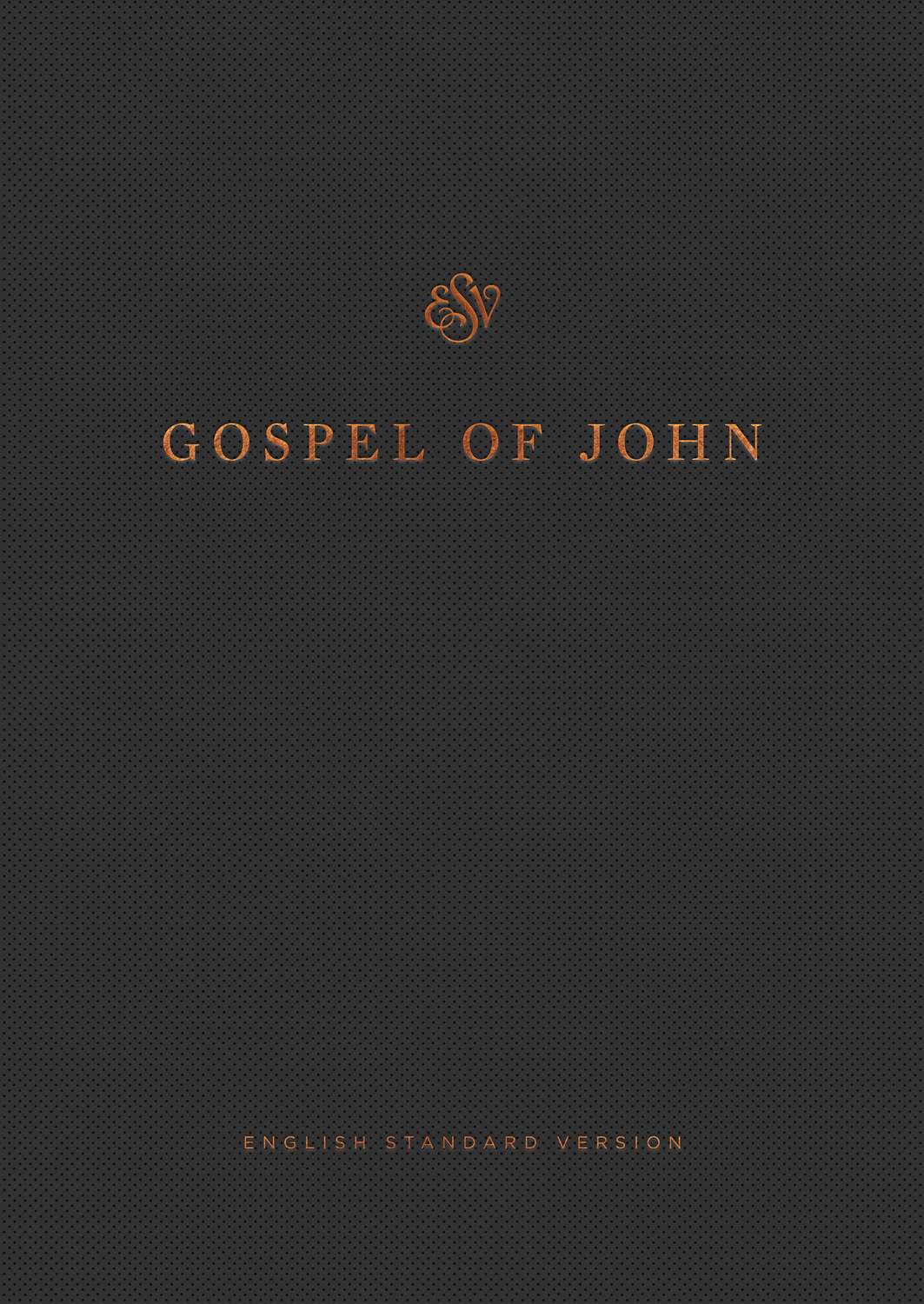 ESV Gospel of John, Reader's Edition