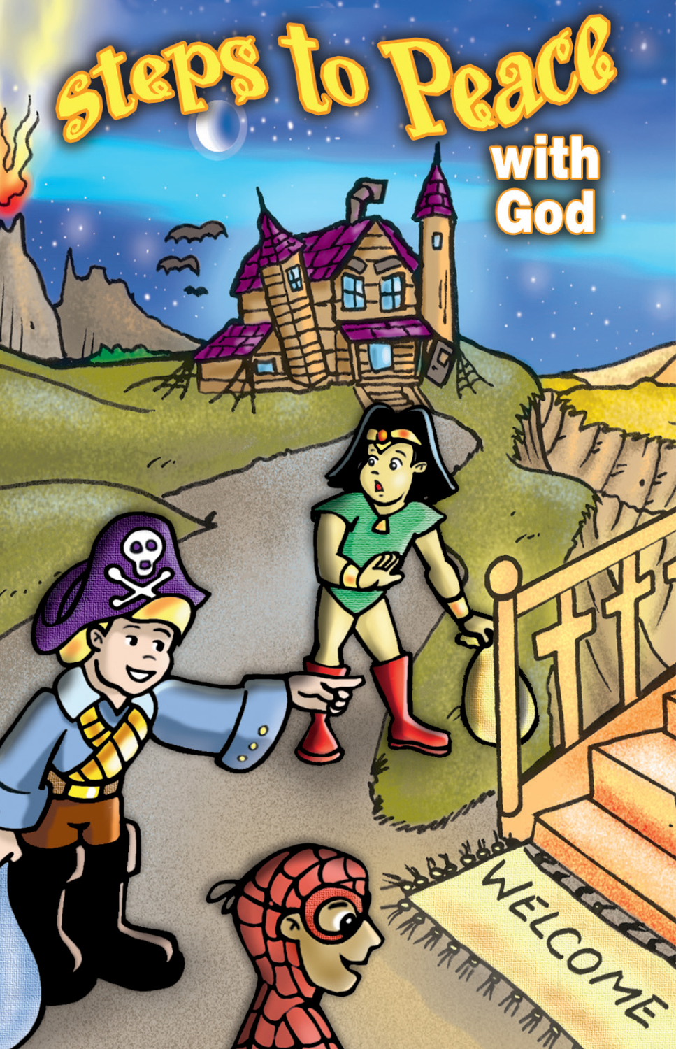 Halloween Steps to Peace with God (ATS)