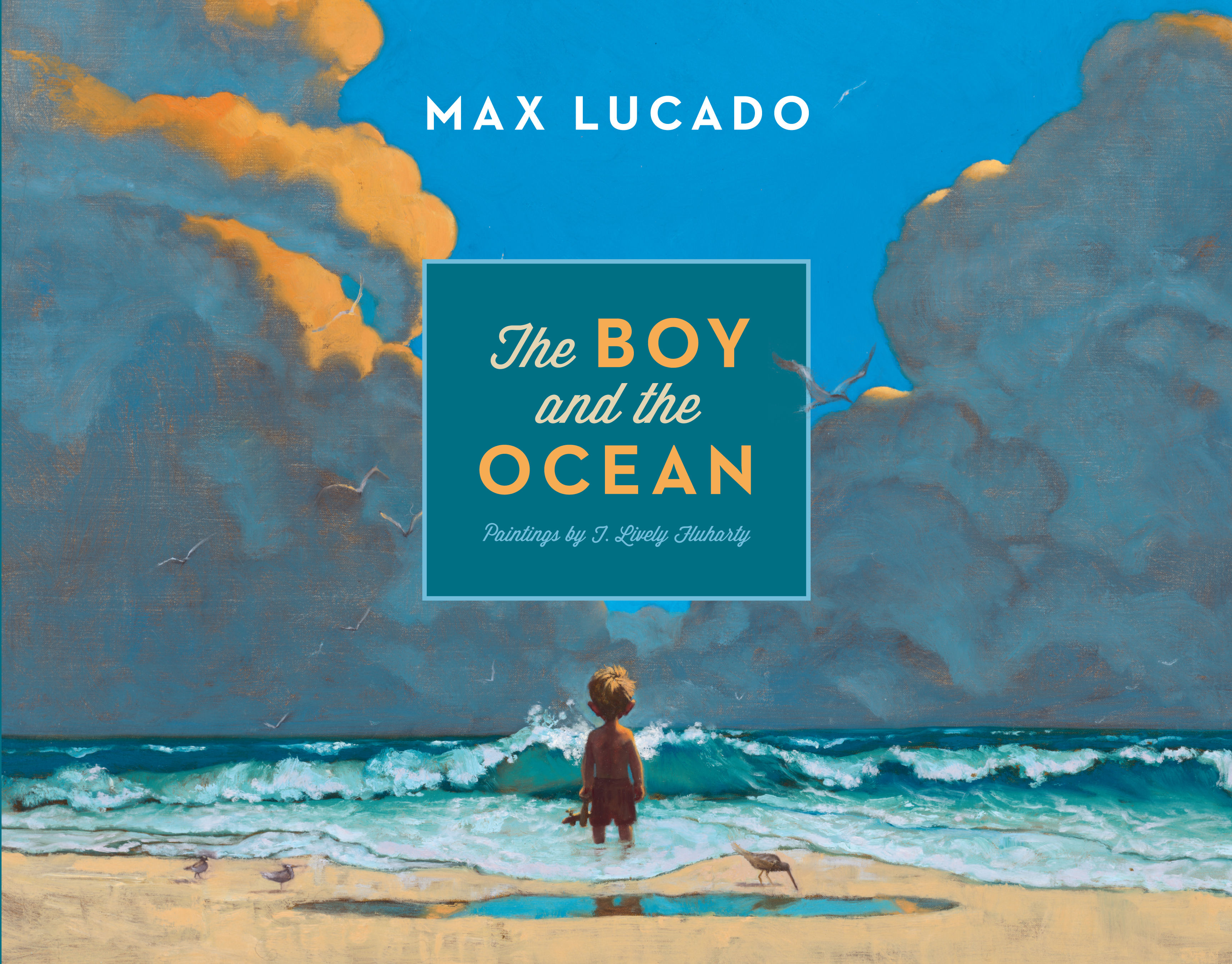 The Boy and the Ocean Cover