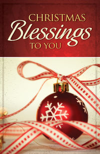 Christmas Blessings to You