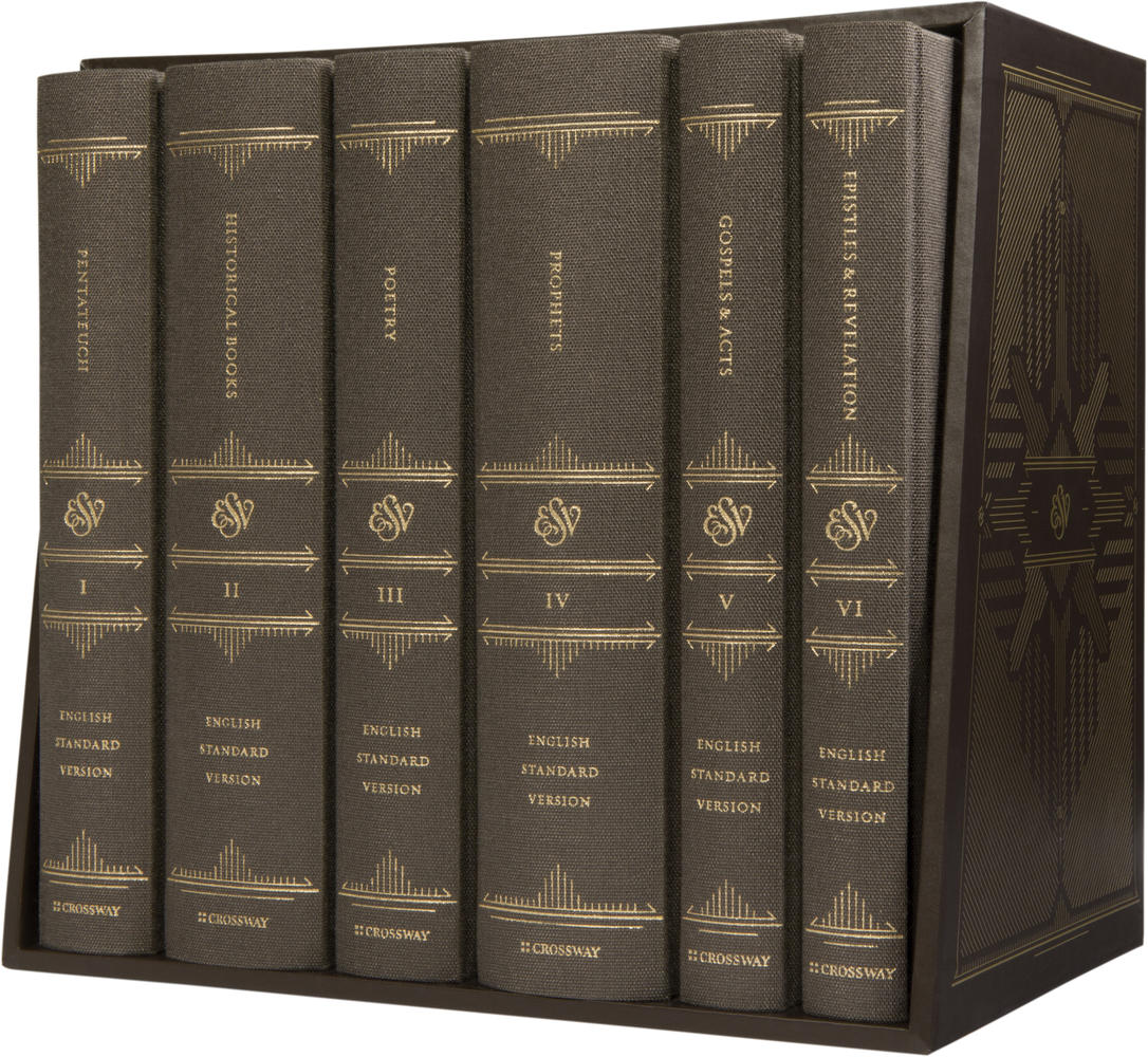 ESV Reader's Bible, Six-Volume Set