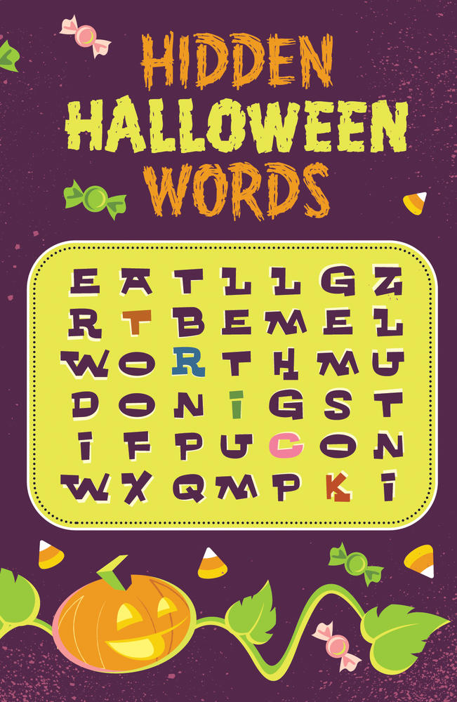 Hidden Halloween Words