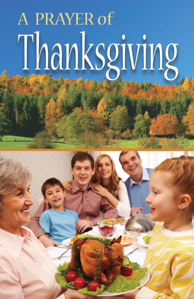 A Prayer of Thanksgiving (ATS)