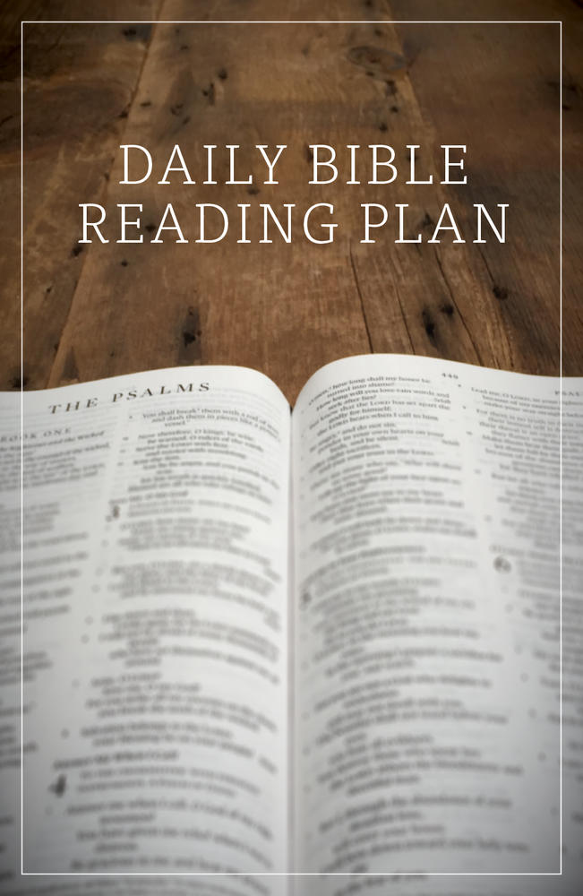 Daily Bible Reading Plan