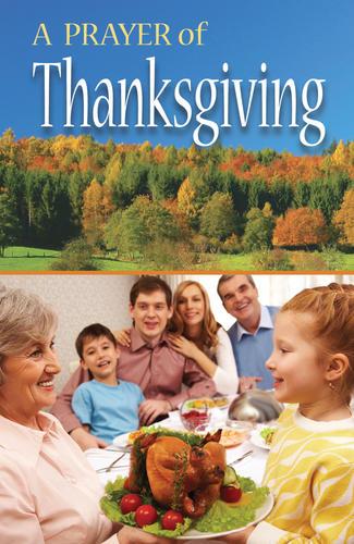 A Prayer of Thanksgiving (ATS)