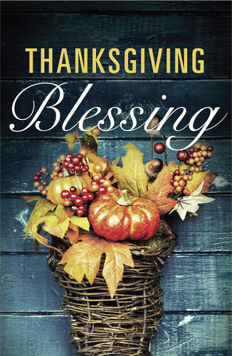 Thanksgiving Blessing (ATS)