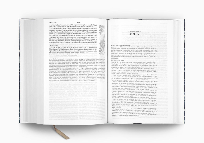 ESV Gospel Transformation&reg Study Bible
