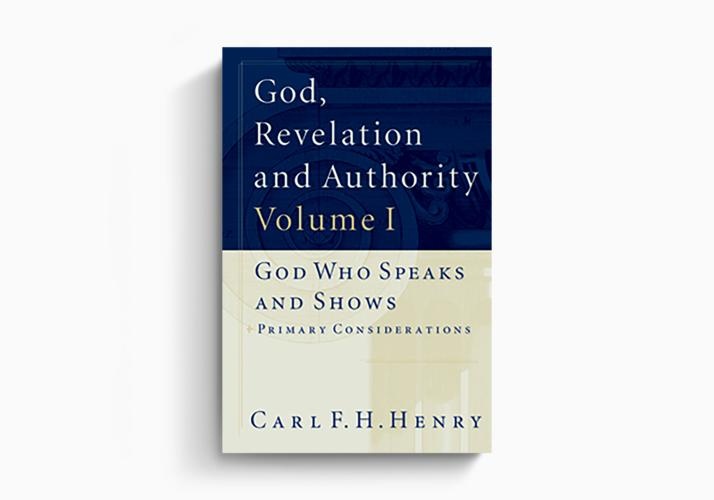 God, Revelation and Authority