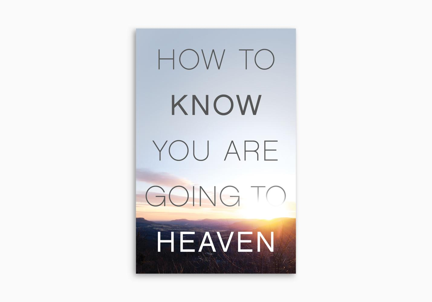 How to Know You Are Going to Heaven (ATS)