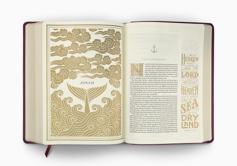 ESV Illuminated™ Bible, Art Journaling Edition
