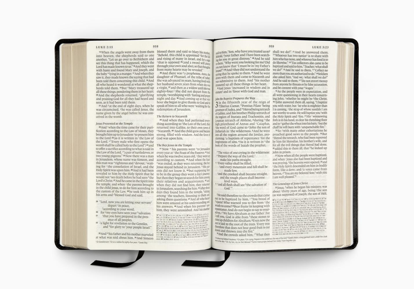 ESV Bible with Creeds and Confessions
