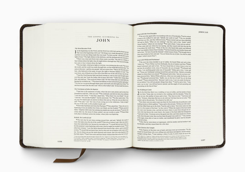 ESV Single Column Journaling Bible®