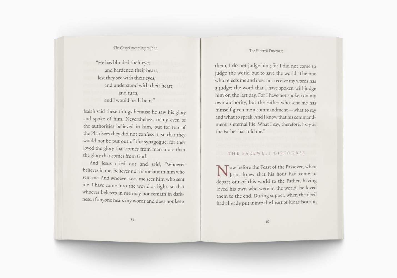 ESV Gospel of John, Reader's Edition