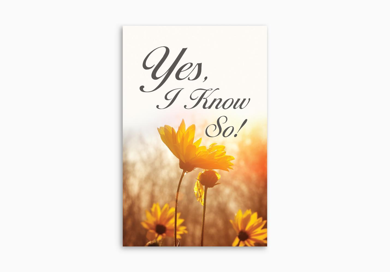 Yes, I Know So! (ATS)