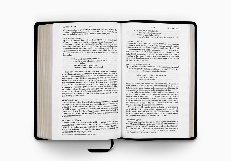 ESV Single Column Thinline Bible