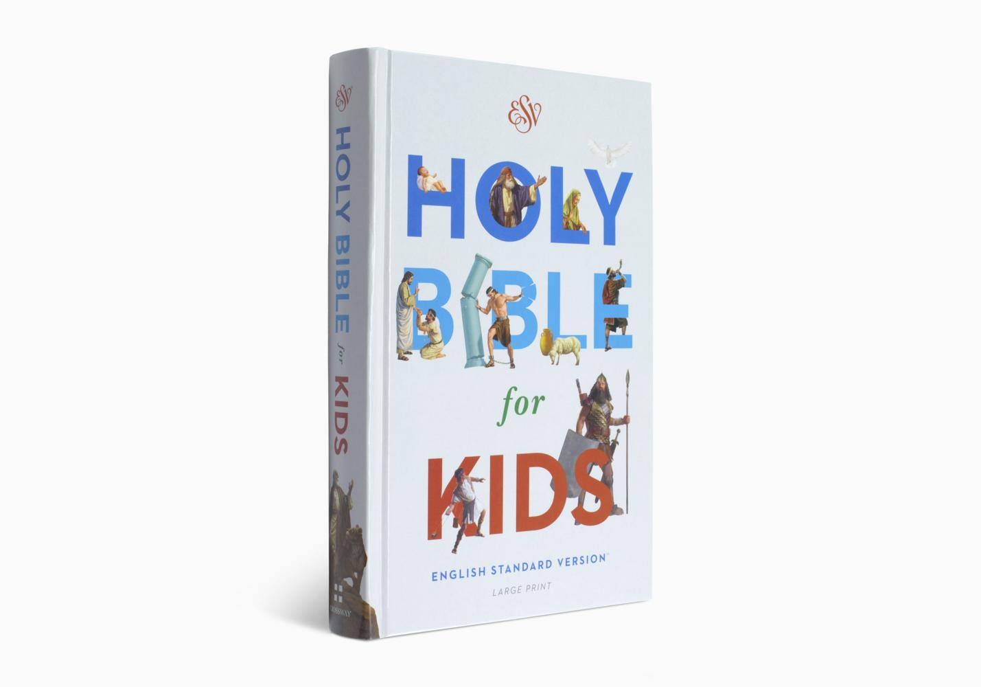 ESV Holy Bible for Kids, Large Print