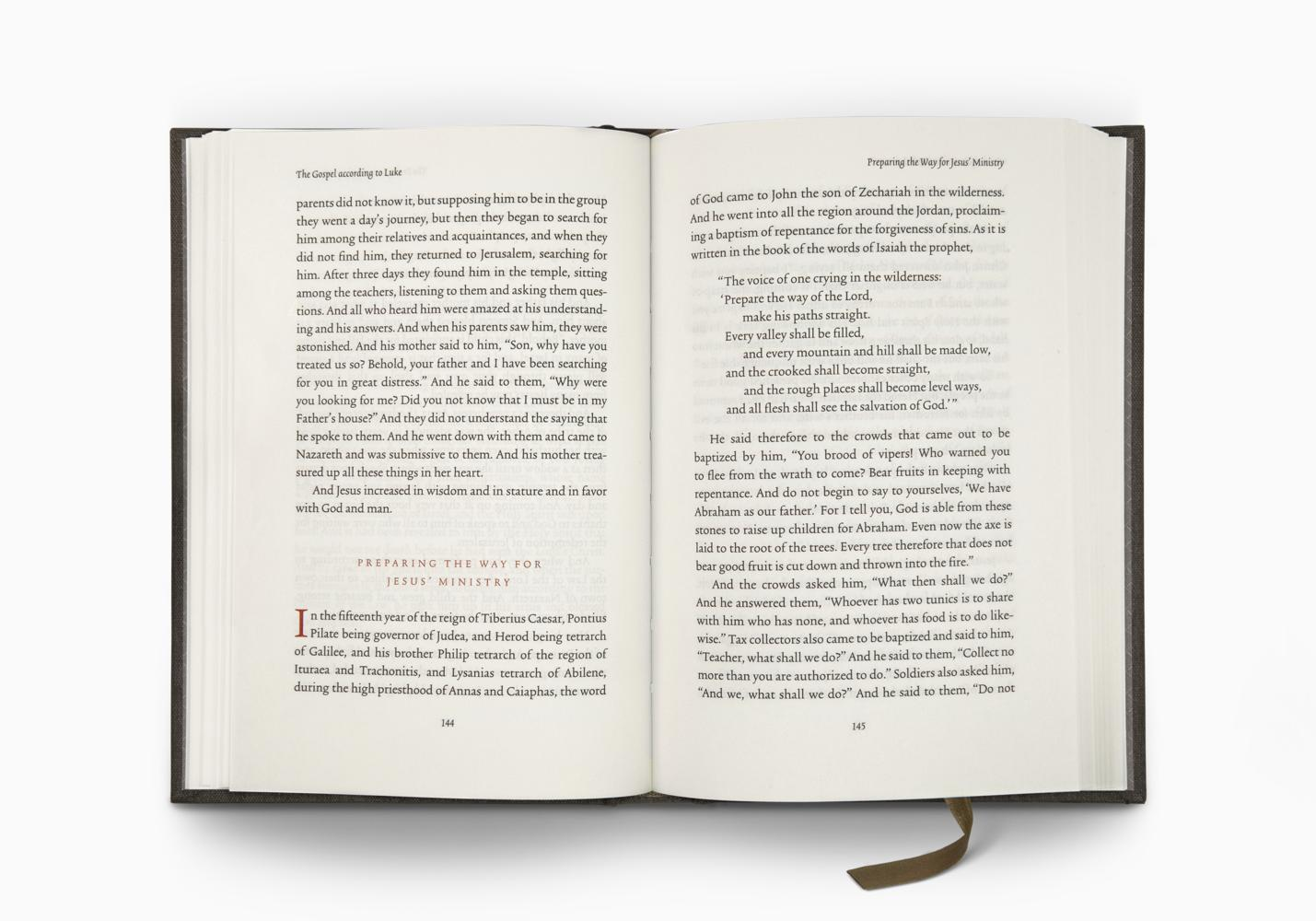 ESV Reader's Bible, Six-Volume Set