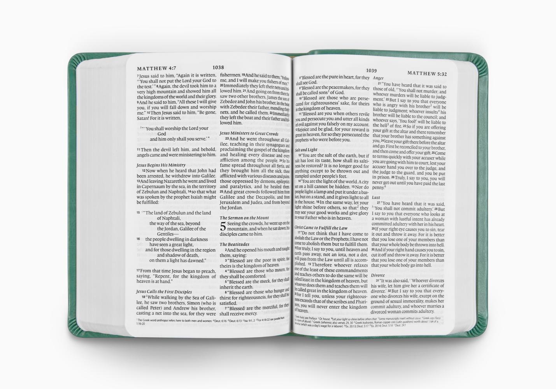 ESV Value Large Print Compact Bible