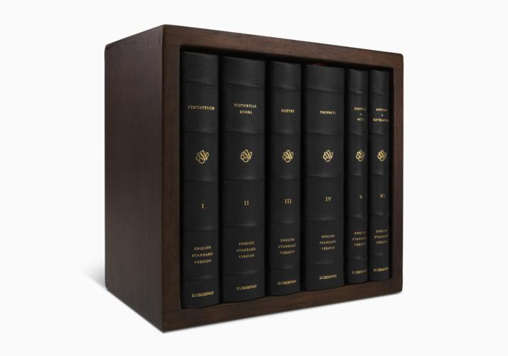 ESV Reader's Bible, Six-Volume Set: With Chapter and Verse Numbers
