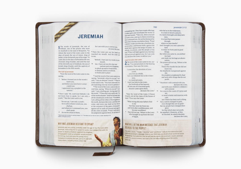 ESV Following Jesus Bible&reg
