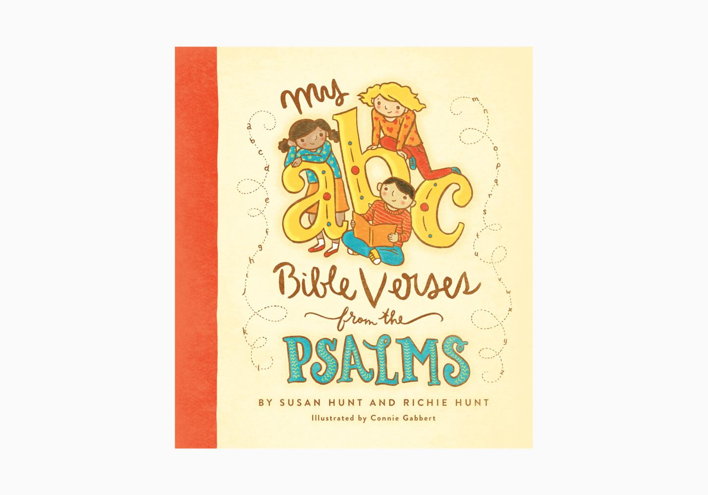 """""""My ABC Bible Verses from the Psalms"""""""